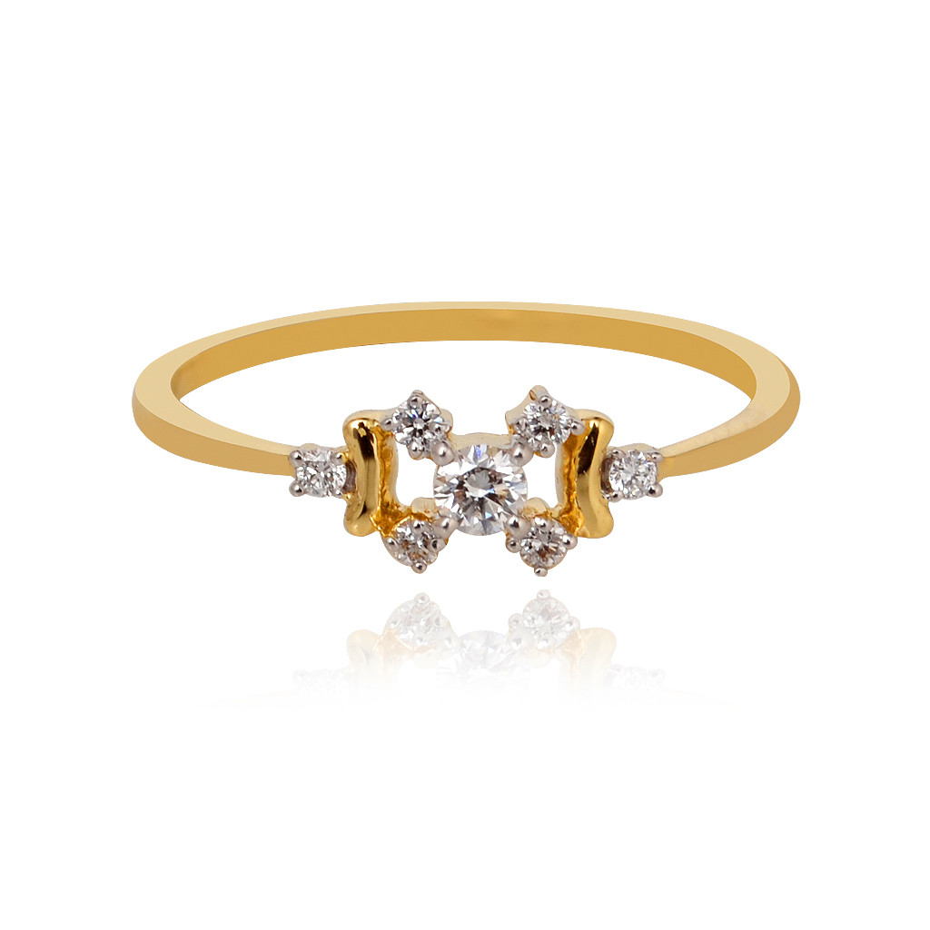 Dazzle Burst Diamond Ring