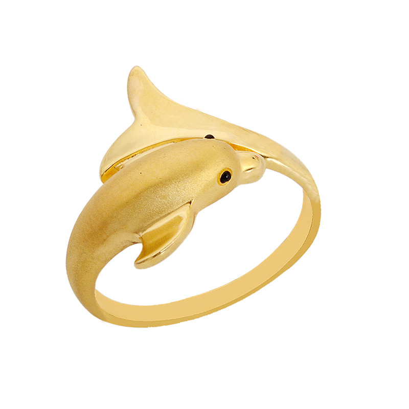 Casting Dolphin Ring