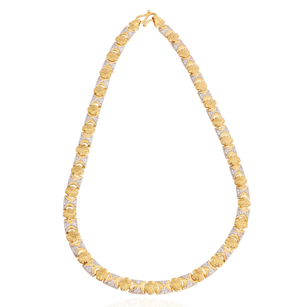 22KT Men's Style Gold Chain