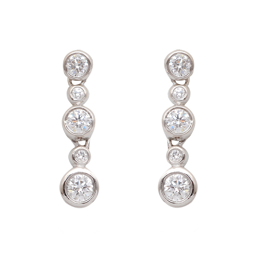 The Forever And Beyond Diamond Earrings