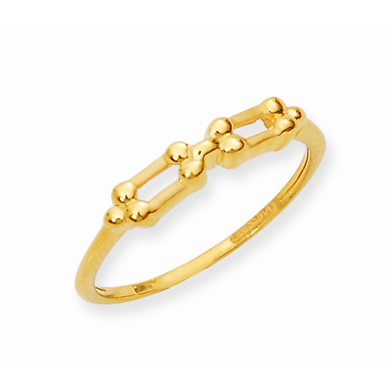 Beautiful and Stunning Gold Casting Ring