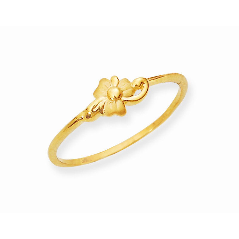 Gold Daisy Flower Casting Ring