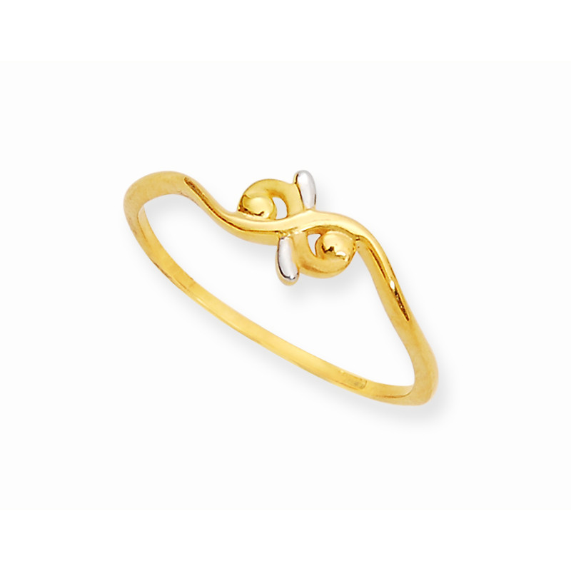 Gold Casting Wave Ring