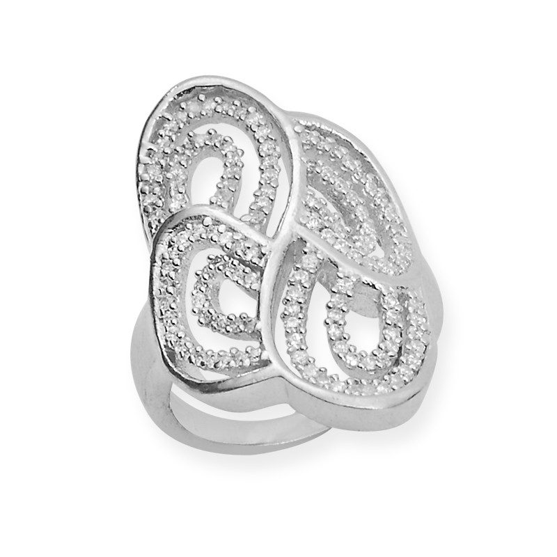 Vintage Style Cubic Zircona Ring
