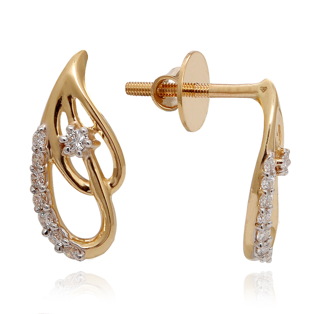 Ethea Paisley Diamond Earring