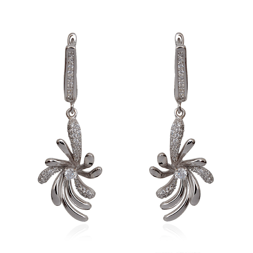 Highly Fashionate 925 Silver Earrings