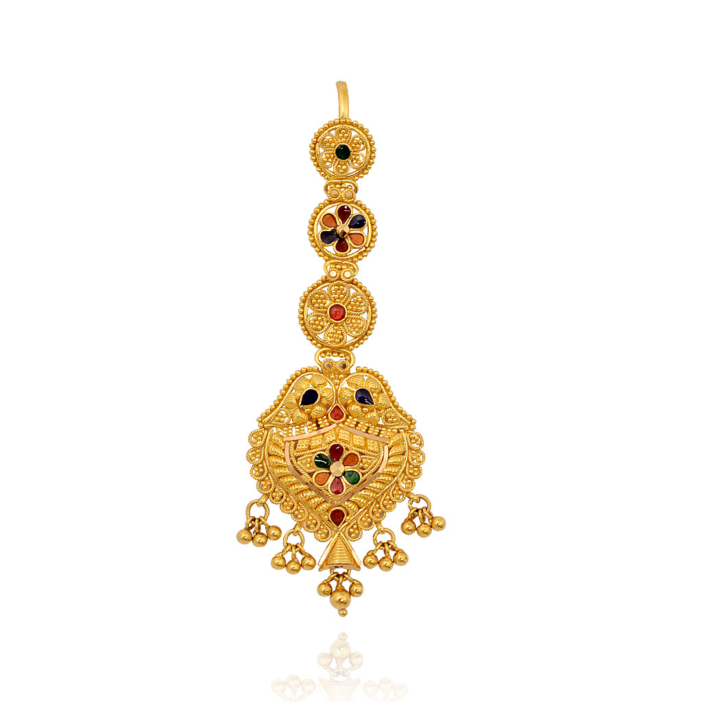 Gold Ornaments Designs For Marriage