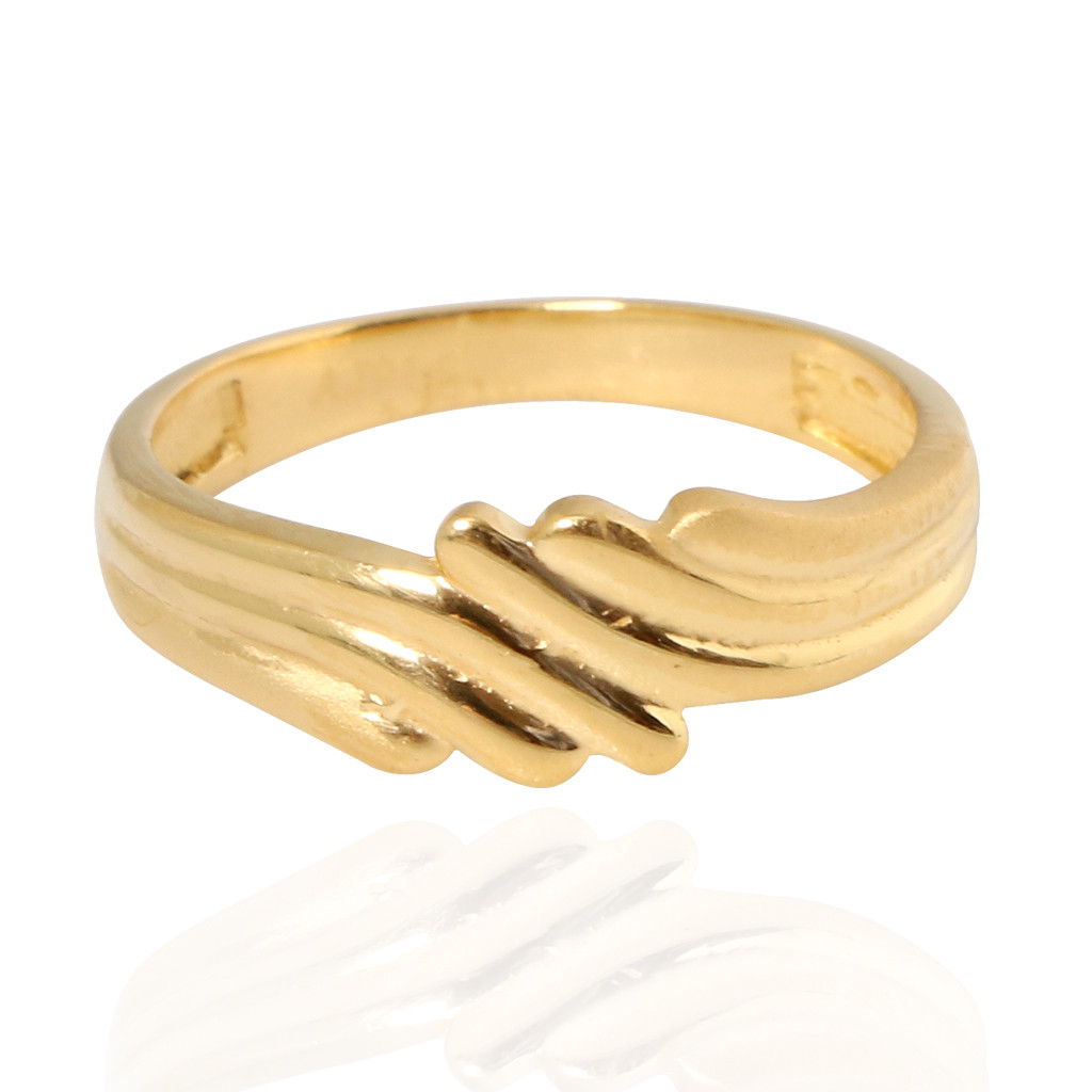 The Tiare Baby Gold Ring