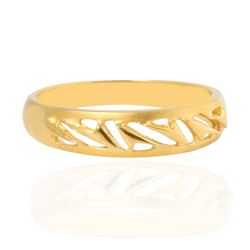 The Carney Designer Gold Ring