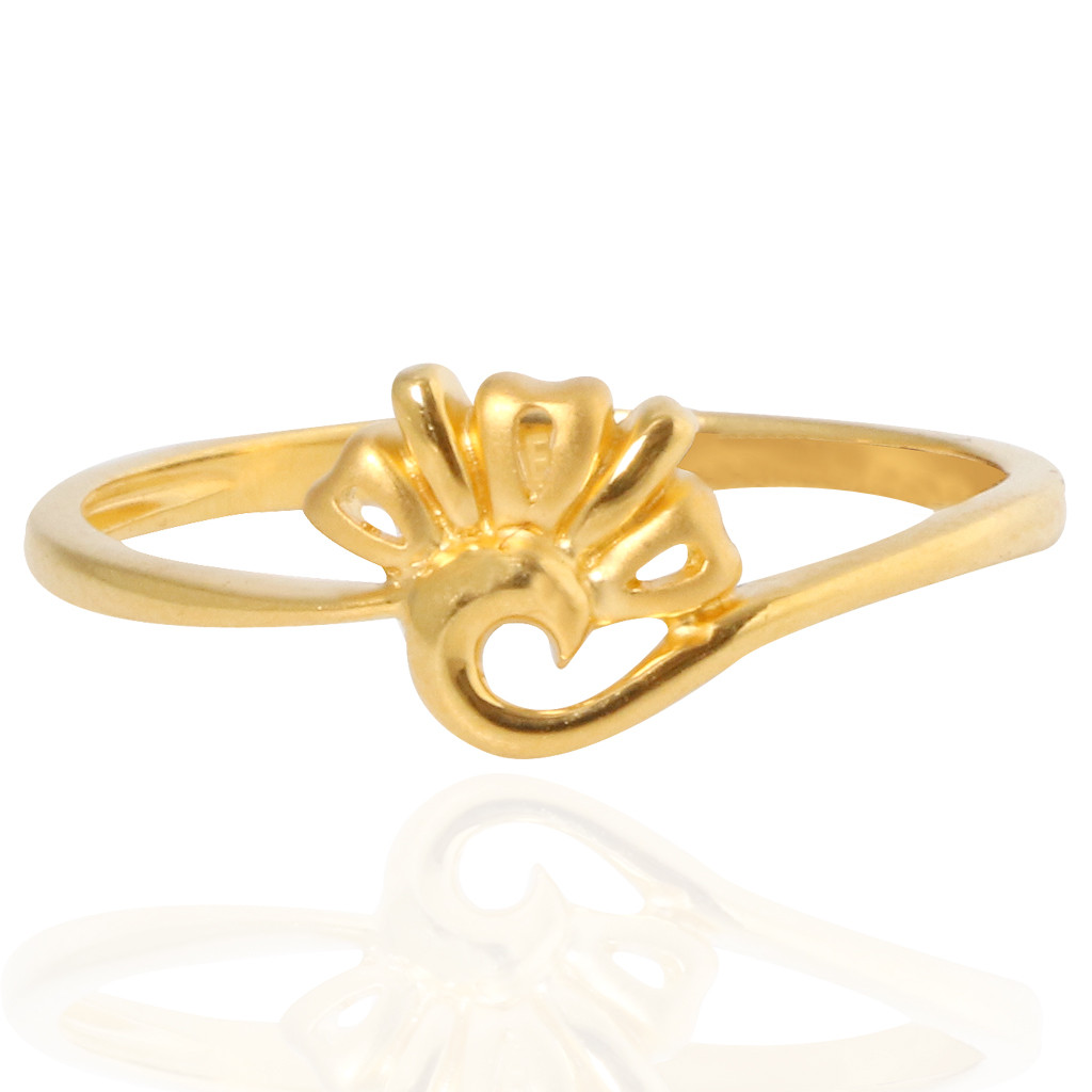 The Kate Cluster Gold Ring
