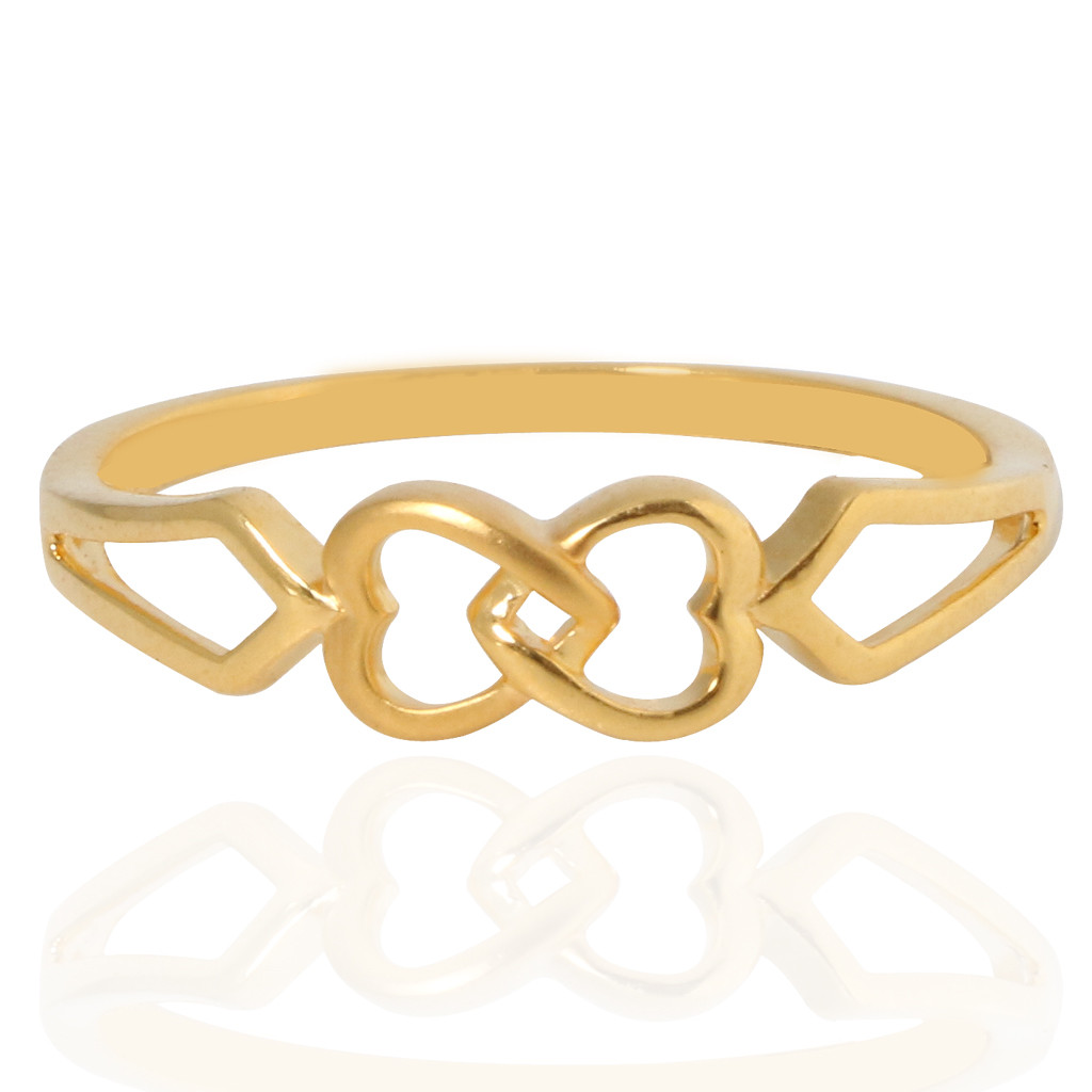 The Entwined Heart Locked Ring