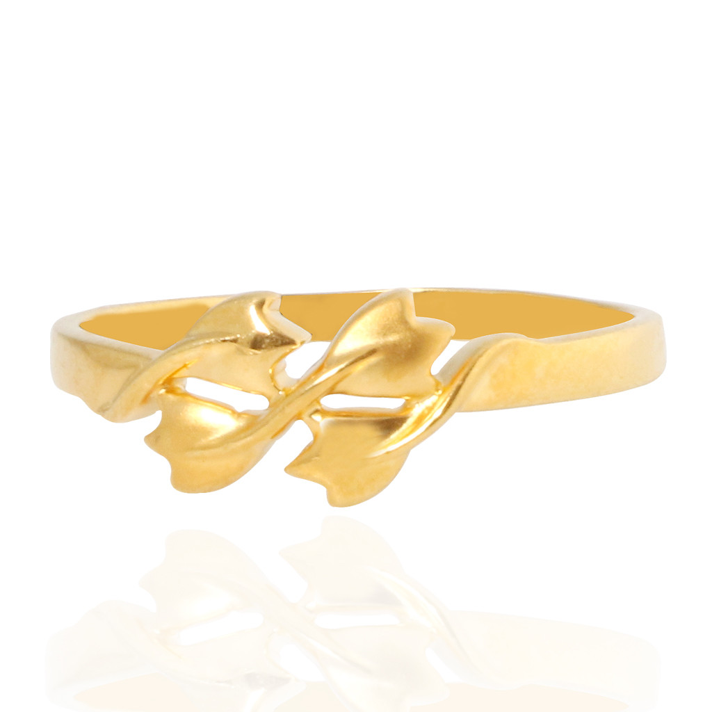 The Renata Fancy Gold Ring