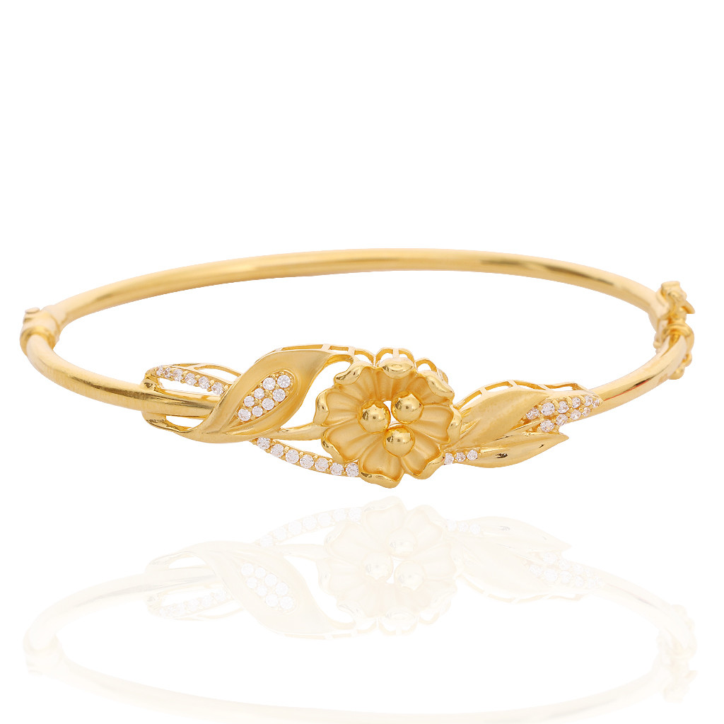 Oriana The Light Weight Jewellery Hasna Floral Leaf