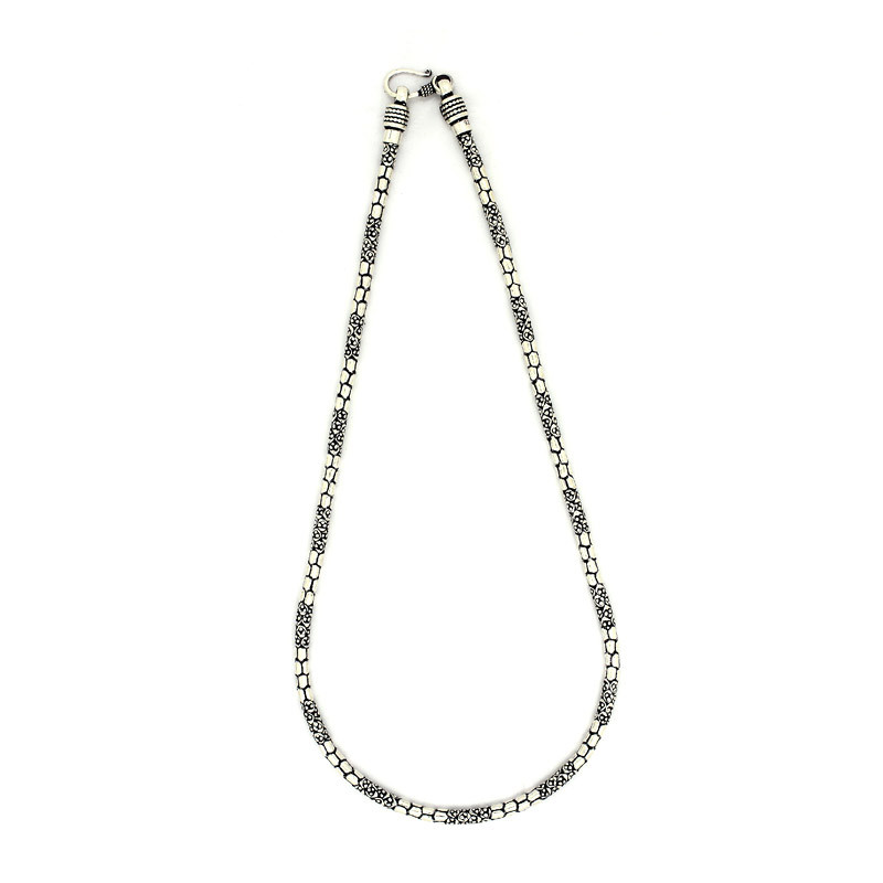 Oxide Silver Honeycomb Chain