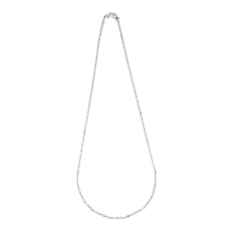 Silver Mens Cable Chains