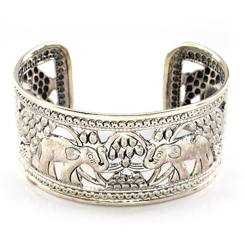 Crafted Silver Cuff Bracelet