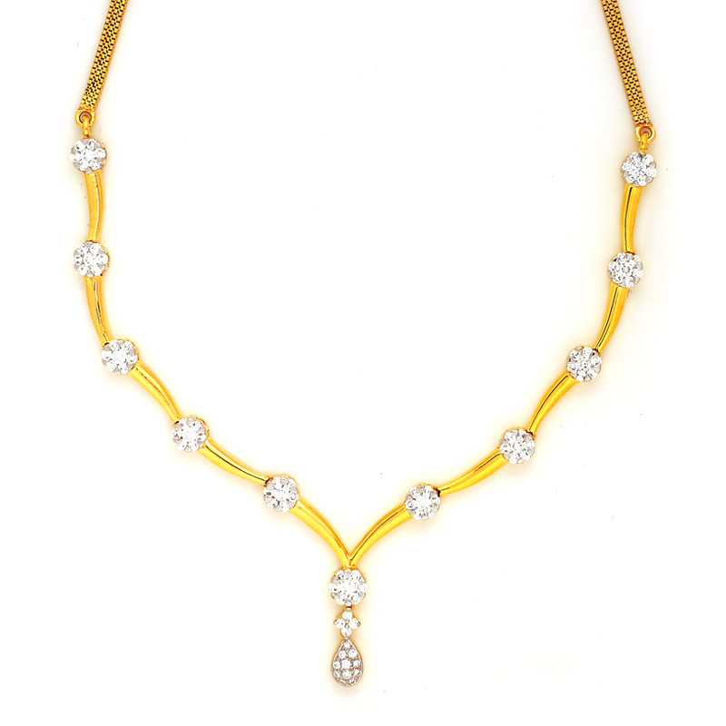 Maya Collection Diamond Necklace