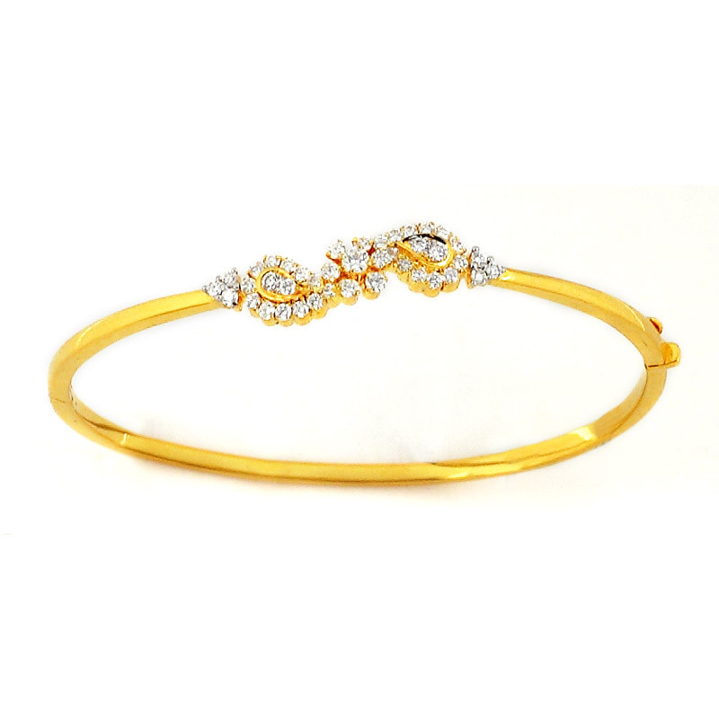 Bracelet Style Diamond Bangle