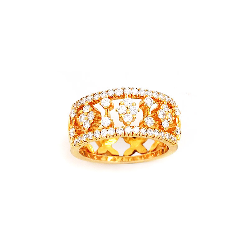 Nakshatra Diamond Engagement Ring