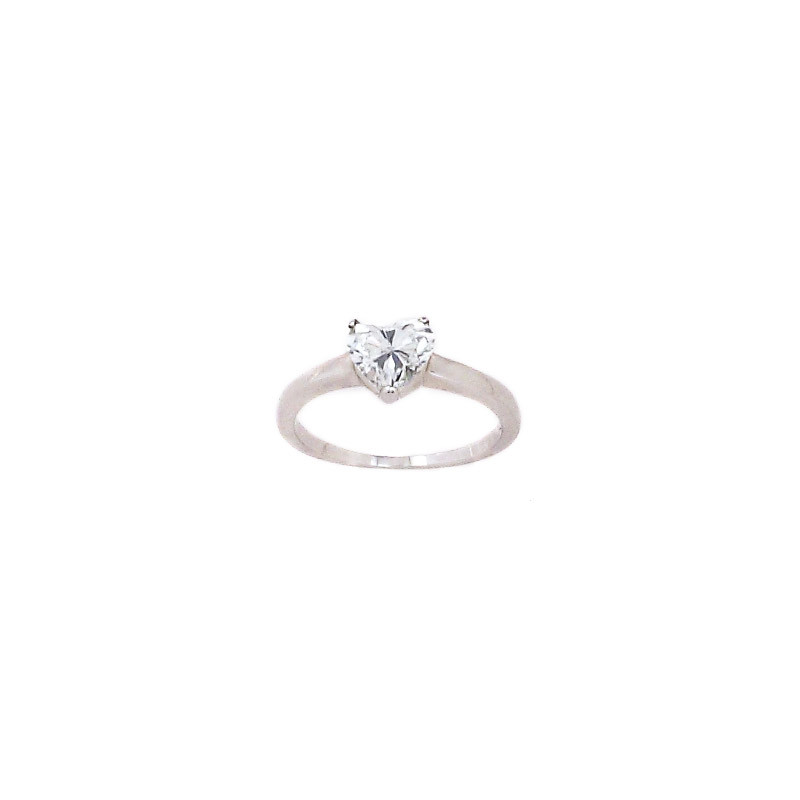 Endless Love Heart Shaped Diamond Ring
