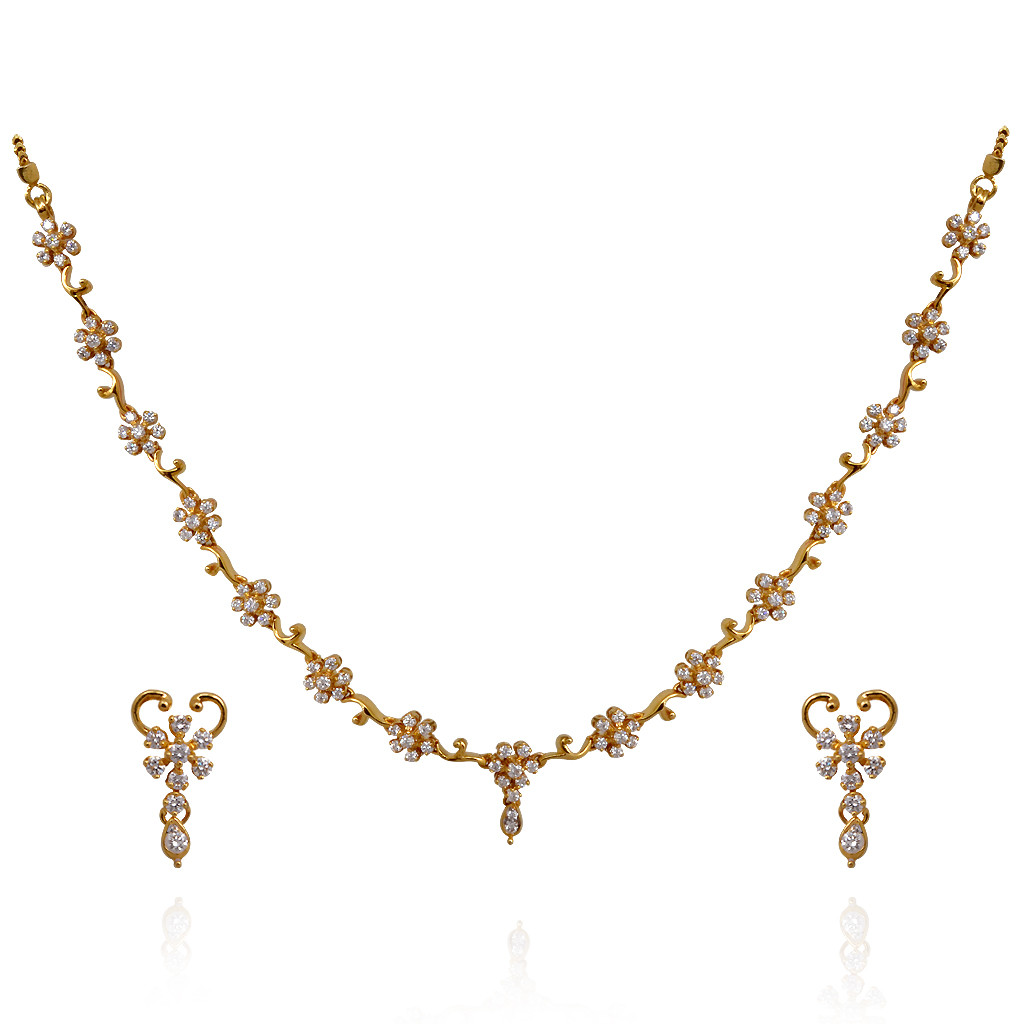 Perfect Gift To Celebrate The Togetherness With Diamond Necklace