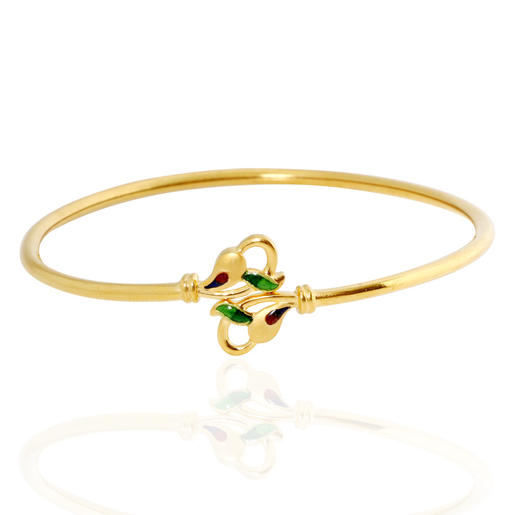 Mystique Leaf Gold Bracelet