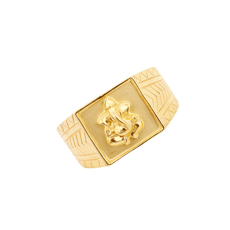 Lord Vinayaga 22KT Gold Ring