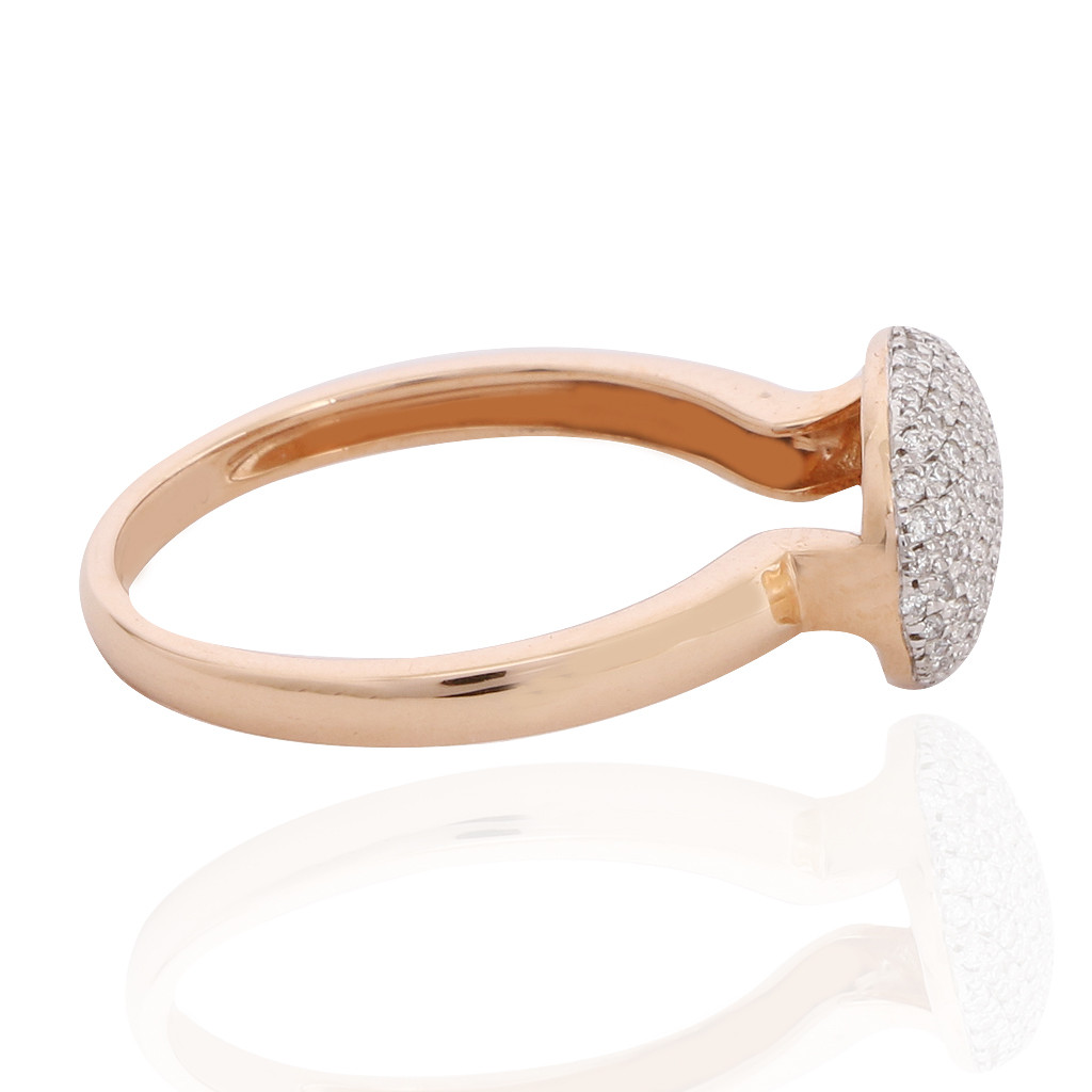 The Oval Shape Diamond Ring