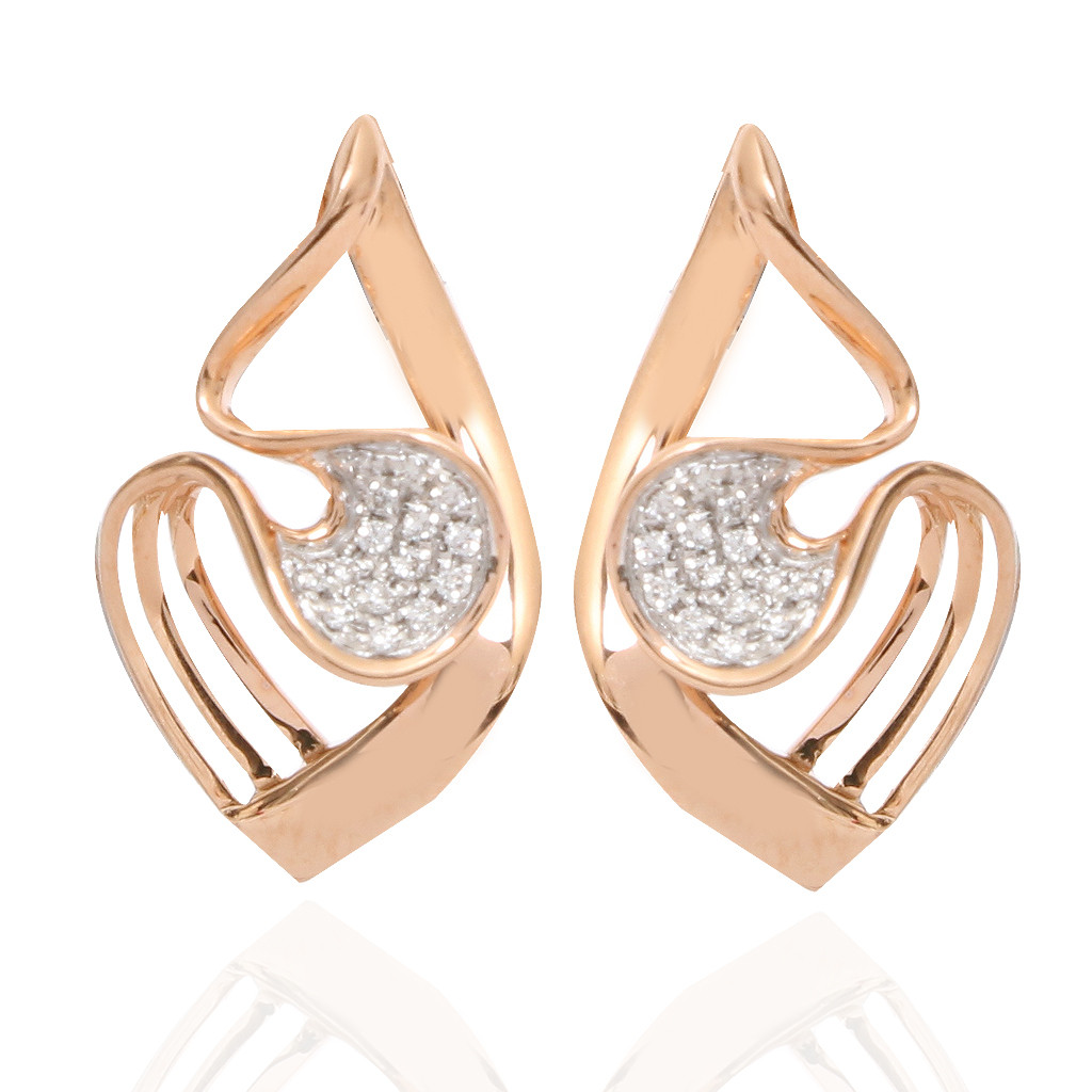 The Entwined In Love Diamond Earrings