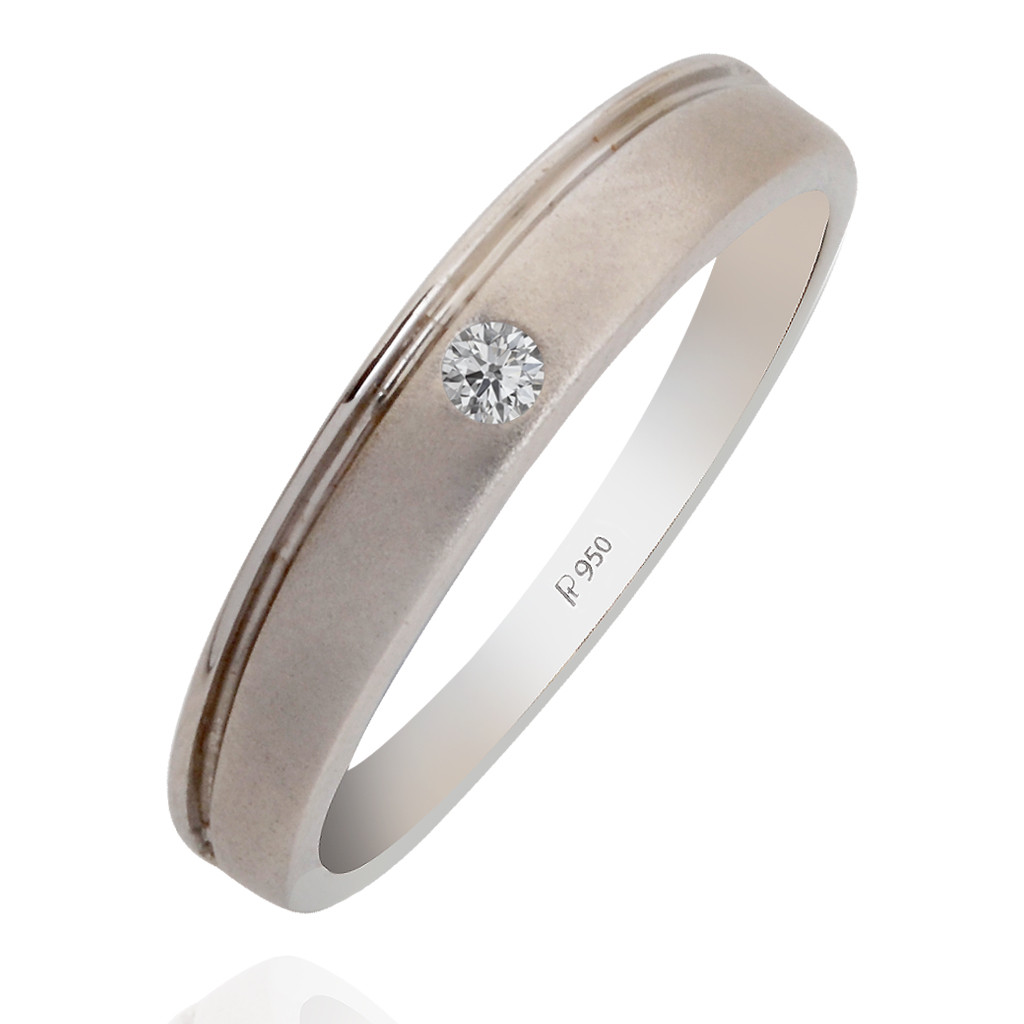 Indian Bridal Platinum Band