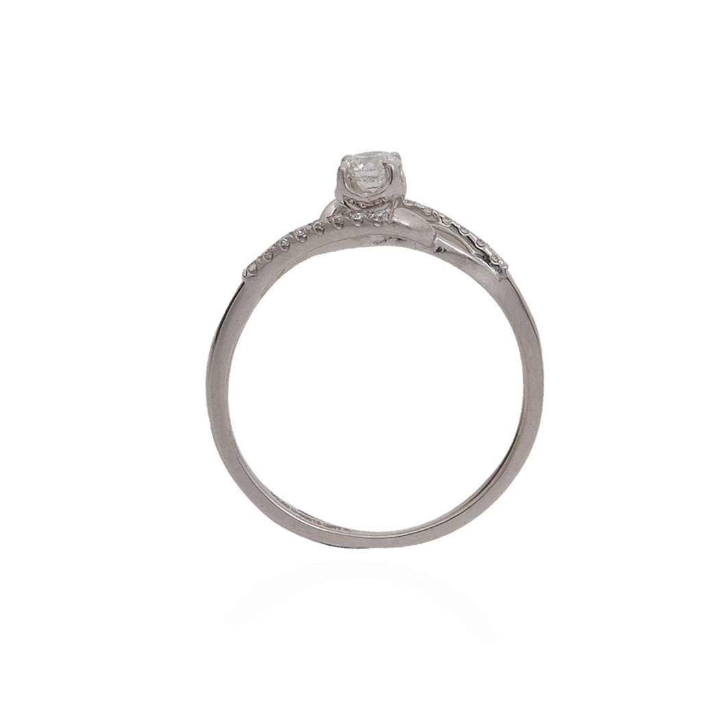 The Span Platinum Ring