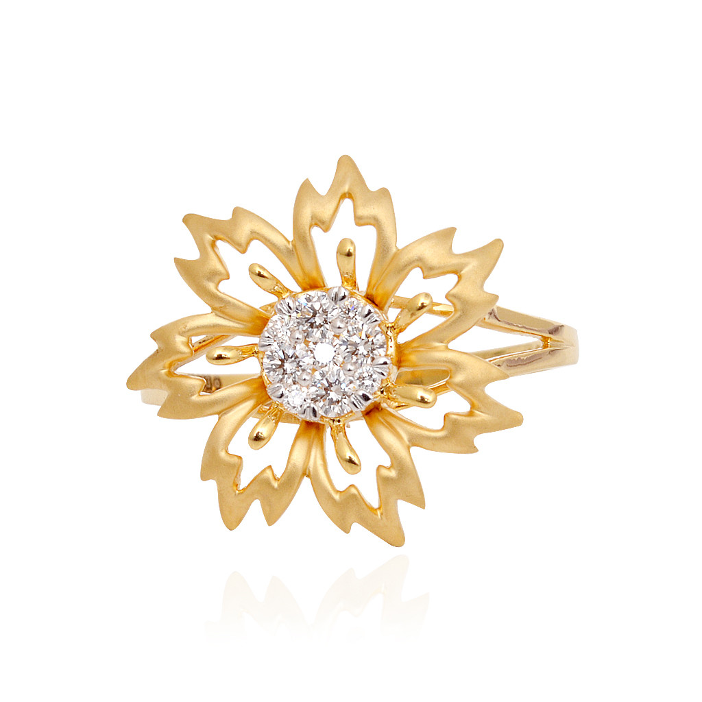 Casting Etarnal Lily Diamond Ring