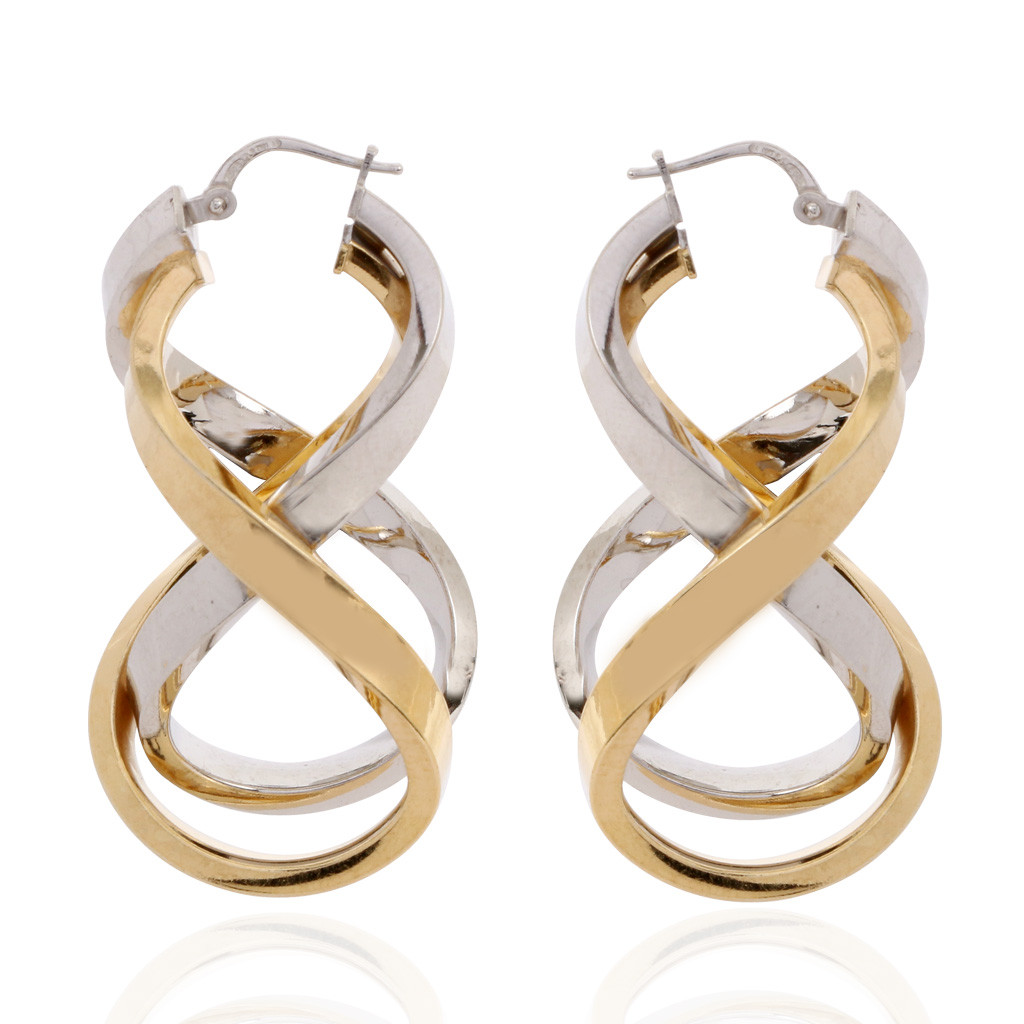 Infinity Love Hoop Earrings