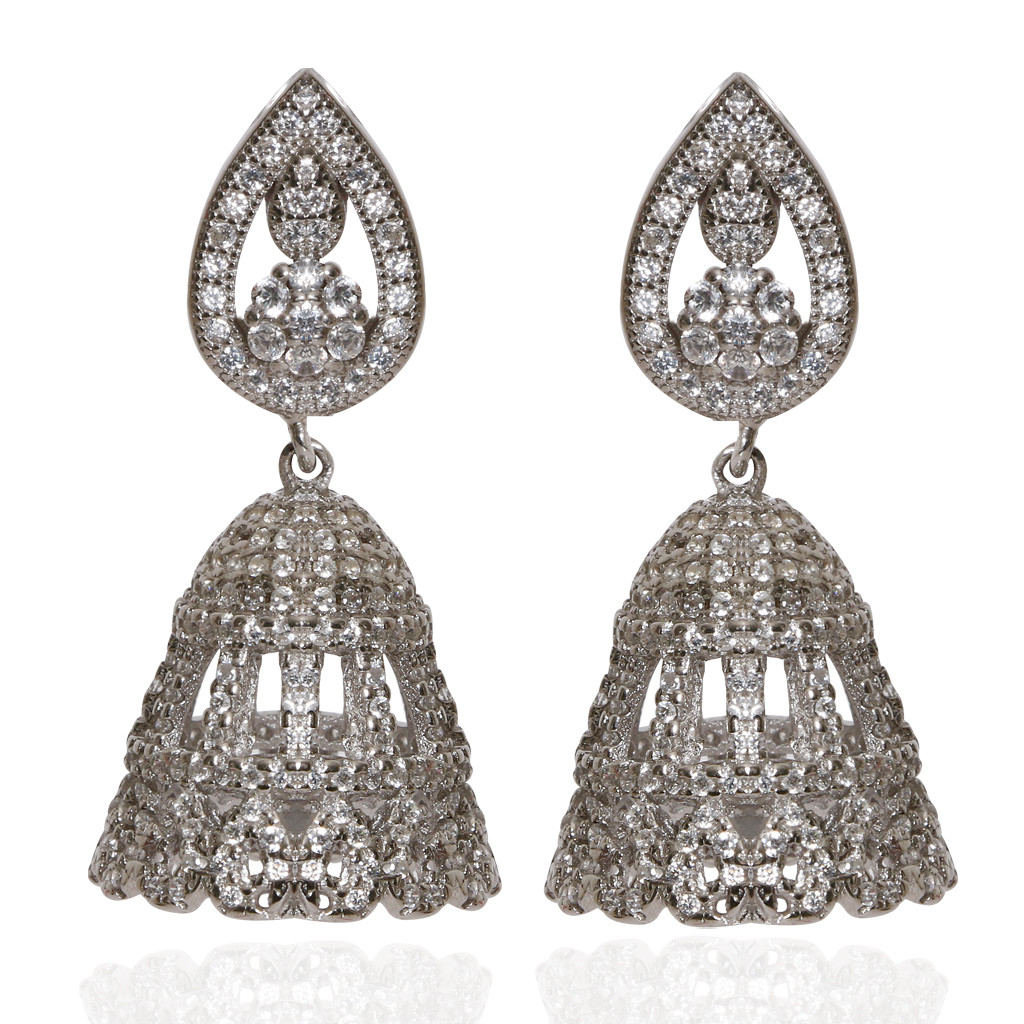 The Lorenna Silver Earrings