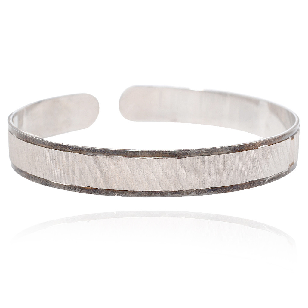 925 Sterling Men's Cuff Wrist Band