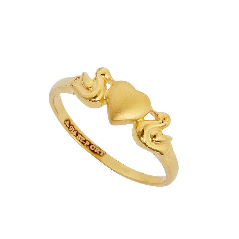 Rings Swan Love Gold Ring Grt Jewellers