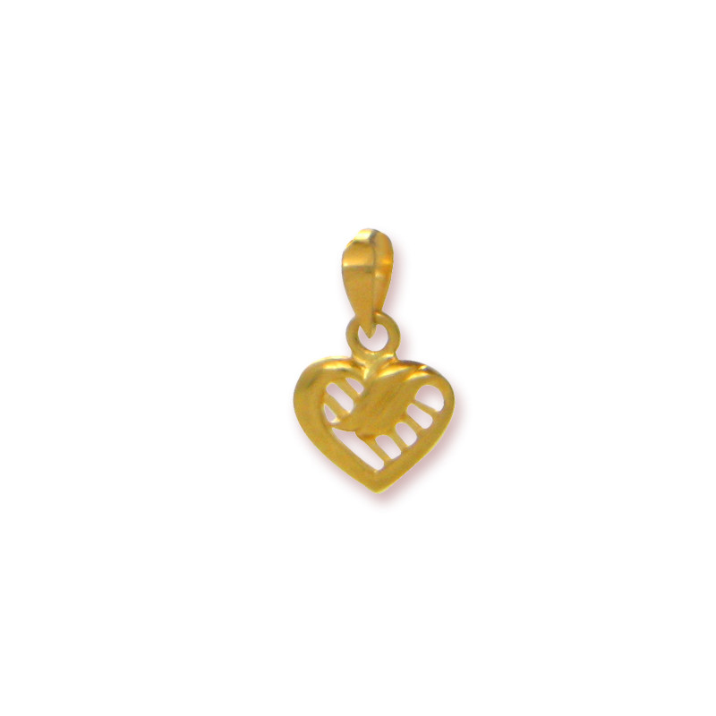 Its My Heart Gold Pendant