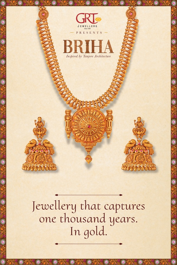 GRT Jewellers presents Briha Collection