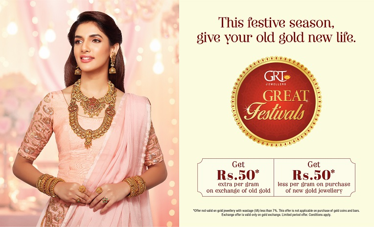 GRT Jewellers Great Festivals Offer